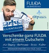 Fuldas Kultur erleben ... entspannt parken.
