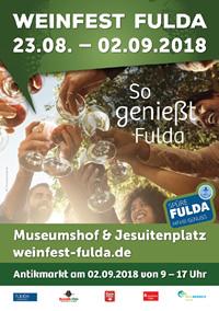 Weinfest Fulda 2018